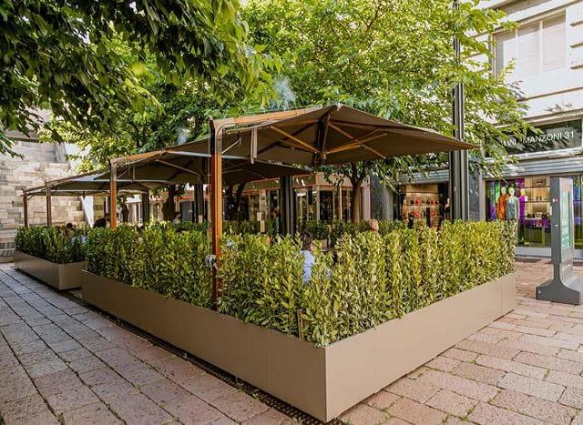 Grande inaugurazione a Milano dell'Emporio Armani Giardino